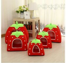 Pet Dog Cat Bed House Tent Kennel Warm Cushion Basket Cave Pet Products Supplies