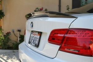 M-P Style Rear Trunk Spoiler For 2006-2013 BMW E92 3-Series Coupe (CARBON FIBRE)
