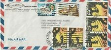 1991 Philippines oversize cover sent from Manila to Worms/Rhein Germany