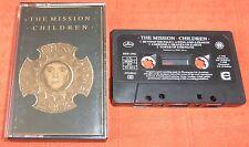 THE MISSION - UK CHROME CASSETTE TAPE (CRO2) - CHILDREN  - PAPER LABELS