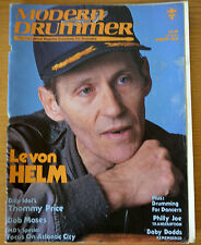 Modern Drummer Magazine August 1984 Levon Helm, Thommy Price, Bob Moses
