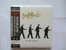 Genesis - The Way We Walk 2cd set (Japan Mini lp)
