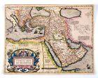 1592 Ortelius Map of Turkey, Europe Africa Very old & rare