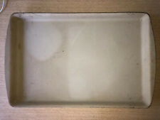 New listing Pampered Chef Cookie Sheet Baking Pan 11 X 17 Rectangular Stoneware Nice