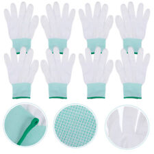 10 Pairs Nylon Breathable Gloves Labor Work Protection Safety Gloves Supplies