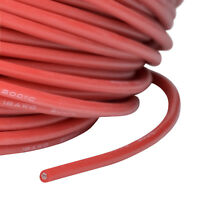 Silikonkabel AWG 18 0.75 qmm hochflexibel supersoft rot partCore 110028