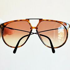 occhiali da sole CARRERA 5415 drop sun sunglasses a goccia black brown vintage