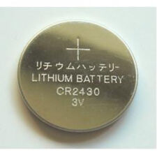 CR2430  battery Lithium  3.0 volt (5 pack)