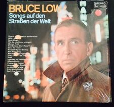 Bruce Low Songs Auf Den Straben De Welt Import LP Record