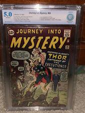 Journey Into Mystery #84 CBCS 5.0 2nd Thor! 1st Jane Foster! Free CGC mylar! cm
