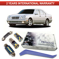 Mercedes W210 LED Interior Kit Premium 14 SMD Bulbs White Error Free