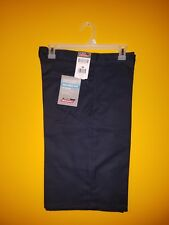 153 new with tag Dickies relaxed fit 13 inch inseam Navy shorts