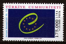 Turchia 3178 **, 50 anni Consiglio d'Europa