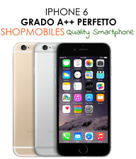 IPHONE 6 64GB A+++ GREY NERO SILVER BIANCO GOLD RICONDIZIONATO RIGENERATO