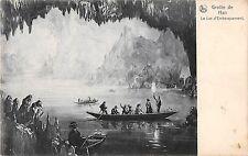 BR55595 Grotte de han Le lac d Embatquement ship bateaux belgium