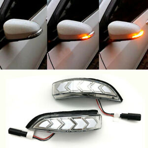 Side Mirror Turn Signal Sequential Light Lamp Fit for Toyota Corolla Scion IM