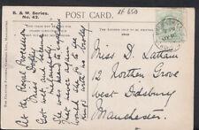 Genealogy Postcard - Latham - 12 Northen Grove, West Didsbury, Manchester  RF650
