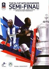 FA Cup Teams S-Z Final Wigan Athletic Football Programmes