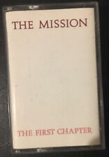 THE MISSION - THE FIRST CHAPTER - Cassette Album - UK 1986 - TESTED - Very Good