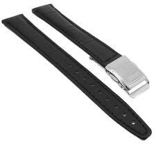 Citizen Eco-Drive Horloge Radio Bracelet en Cuir 14mm Noir ES4030
