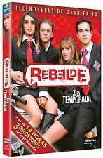 Rebelde - Season 1 (DVD, 2013, 3-Disc Set), Spanish Language