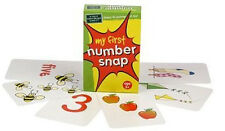 NEW The Green Board Game Co. - My First Number Snap  Cards Card - 5 years plus