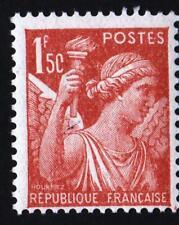 VARIÉTÉ-N°652- ( 1 f 5 C ) type IRIS -  NEUF **