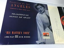 Traditional songs of Spain De Los Angeles LP HIS MASTERS VOICE ALP 1063 1 UK