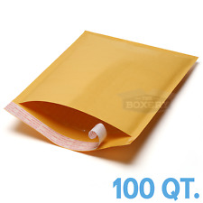 100 #2 8.5 x 12 Kraft Bubble Padded Envelopes Mailers from The Boxery