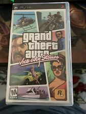 Grand Theft Auto: Vice City Stories (Psp) Complete In Box with Map - Black Label