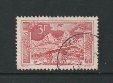 Switzerland 1914 3fr Red Views Used