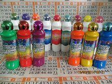 Set of 15 Bingo Dauber sparkle set! 6 Glitter Ink Bingo Daubers and 9 Dazzle Ink