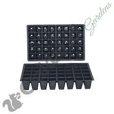 10 X 40 Cell Full Size Seed Tray Inserts Plug Trays Bedding plant Packs Plastic