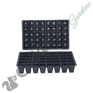 10 X 40 Cell Seed Tray Inserts Full Size Plug Trays Bedding Plant Pack