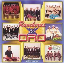 FREE US SHIP. on ANY 3+ CDs! NEW CD Various Artists: Rancheras De Oro