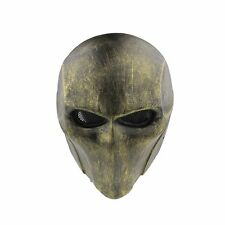 COOL Full Face Protection Fabric Resin Wire Mesh Paintball Airsoft Skull Mask