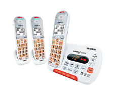 UNIDEN SSE35+2 VISUAL & HEARING IMPAIRED CORDLESS DIGITAL PHONE SYSTEM INTERCOM