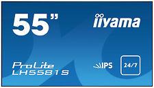 "iiyama 55"" IPS LED Monitor Lh5581s‐b1 Large Format Display Digital Signage LFD"