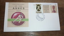 1997 DON BRADMAN AUSTRALIAN LEGENDS FDC, ASHES CRICKET TIED PSE BOWRAL PM 1