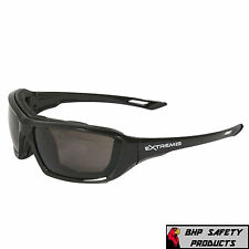 SAFETY GLASSES GRAY ANTI-FOG LENS SPORT EYEWEAR RADIANS XT1-21 EXTREMIS (1 PAIR)