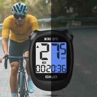 1pc Waterproof Bike Bicycle Computer GPS Wireless--Speedometer Odometer USB New