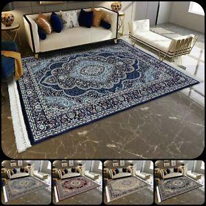 New Luxury Large Traditional Rugs Long Hallway Runner Living Room Bedroom Carpet