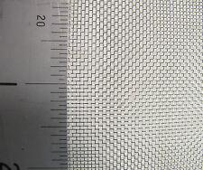 #22 X 0.22mm Acero Inoxidable Malla de pantalla de insectos - 230mm - 30.5m - One Off!
