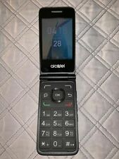 Alcatel One Touch 4044V - Black ( UNLOCKED ) 3G GSM Flip Camera Cell Phone