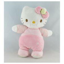 Doudou chat HELLO KITTY rose SANRIO LICENSE  - Chat - Lion - Tigre Classique