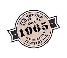 Non è vecchio intorno al 1965 ROSETTA Emblema PER CASCO DA MOTO AUTO ADESIVO VINILE