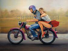 """Fine art prints, Harley Davidson - """"Hummer"""""""