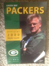 2000 Green Bay Packers Media Guide Yearbook Mike Sherman BRETT FAVRE