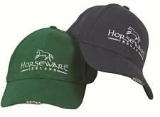 Horseware Unisex BASEBALL CAP Hat with LED LIGHT Head Torch Navy or Green