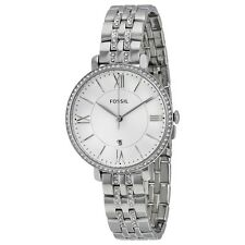 FOSSIL ES3545 JACQUELINE SILVER WATCH FOR WOMEN - COD +FREE SHIPPING #XmasBonus